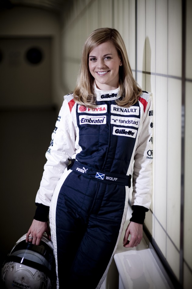 Susie Wolff Hot