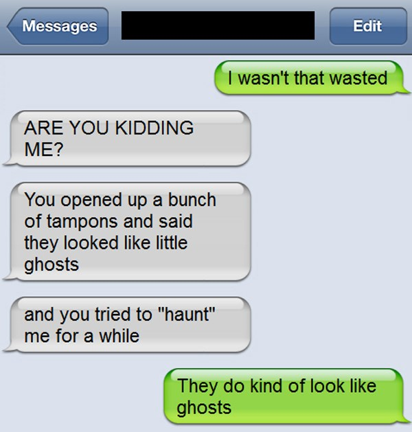 25 Hilarious Drunk Text Fails