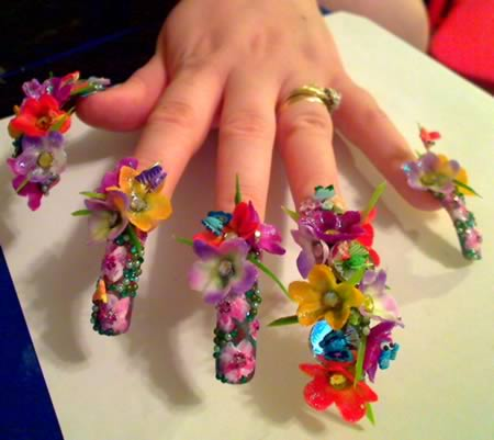 15 Most Original Nail Designs Page 3 Of 6 Herbeat