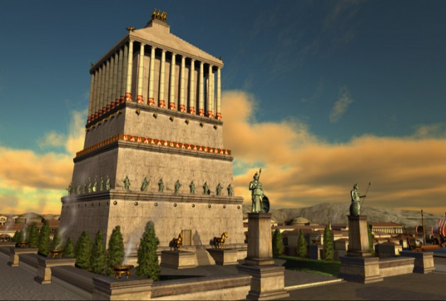 Mausoleum_At_Halicarnassus_3