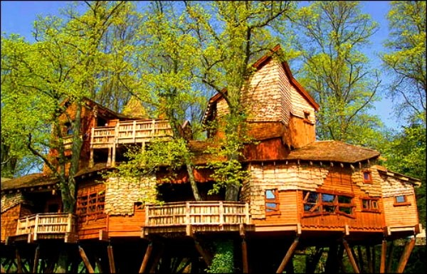 Most Expensive Tree House In The World 10 most expensive treehouses around the globe (video) - herbeat
